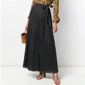 MaxMara BROWN wrap style skirt